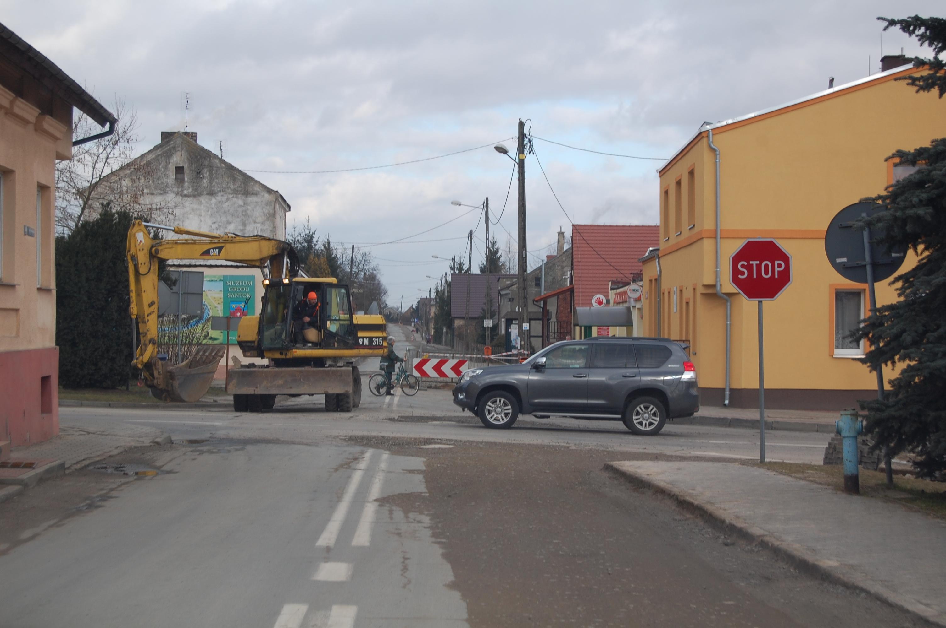 Kanalizacja wGminie Santok